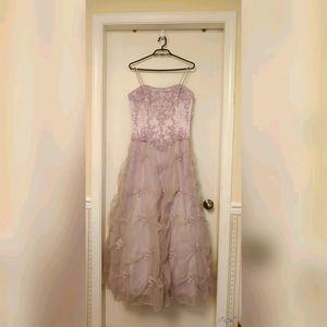 Jasmine Design Int'l Lilac Dress Size 10